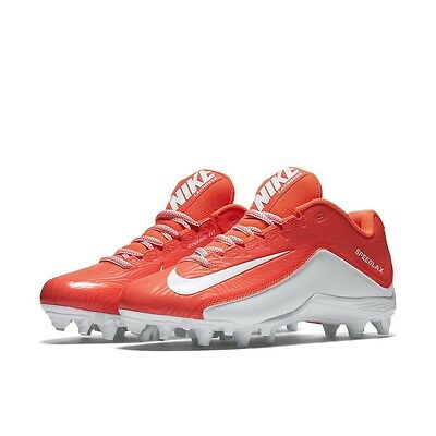 New Womens Nike Speedlax 5 TD LAX Lacrosse Cleats 807158-811 Coral White Size 8