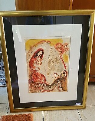 "Marc Chagall ""Rachel steals her Fathers graven Images"""