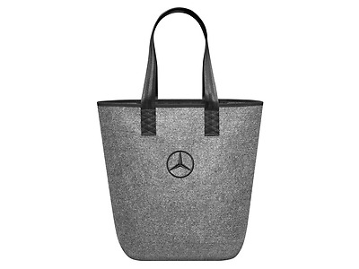Original Mercedes-Benz Shopper / Tasche, grau, Polyester,  B66952989