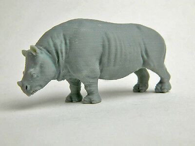 Teleoceras Rhinoceros 1/35 scale 3d plastic Model Very Rare!!