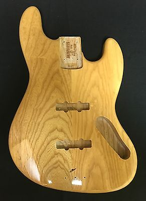Fender Lic. AllParts Jass Bass Swamp Ash Natural finish  Replacement Body