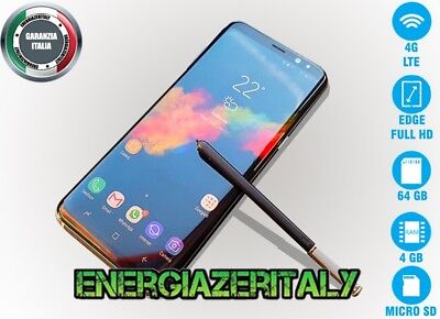 "GOOPHONE NOTES 8i EDGE 6,3"" OCTACORE ANDROID 7 13MPX 4GB RAM 64GB ROM 4 G LTE"