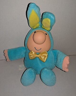 "Ziggy 1988 Easter Plush Doll Bunny Rabbit American Greetings 9"" Tom Wilson VTG"