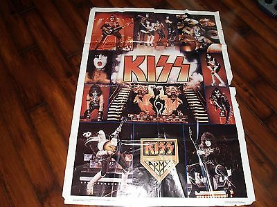 1977 KISS Subway Poster **VTG/One Stop/Aucoin/Ace/Gene/Paul/Peter/Boutwell**