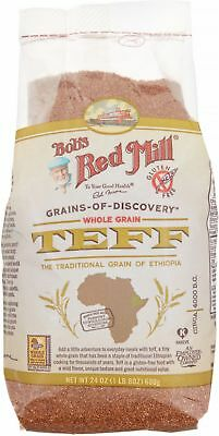 Bob's Red Mill Whole Grain Teff 24 oz (Pack of 4)