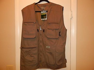 Men's Large Champion NWT fishing, hunting, outdoors vest,11 pockets in all!