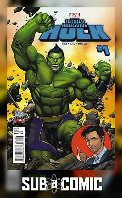 TOTALLY AWESOME HULK #1 FRANK CHO (MARVEL 2016 2nd Print) COMIC