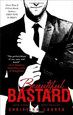 Complete Set Series Lot of 5 Beautiful Bastard books by Christina Lauren Romance