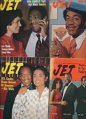 LOT(10)Bill COSBY JET MAGAZINES 1977 1978 1979 1983 1987 EXCELLENT COND NO LABEL