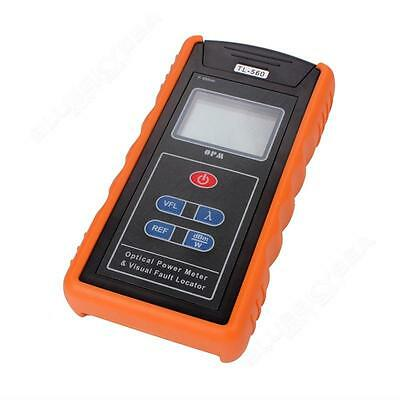 Optical Power Fiber Meter + 10mW Visual Fault Locator Cable Tester Dural Use