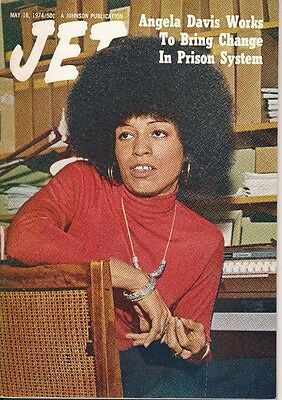 JET MAGAZINE 5/16/1974 ANGELA DAVIS changes prison system NO LABEL EXCELLENT CON