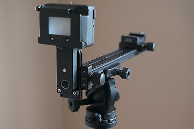 Nikon PS-5 Slide Copy Adapter PS5 with arca  swiss type rail system 4 RRS  Kirk
