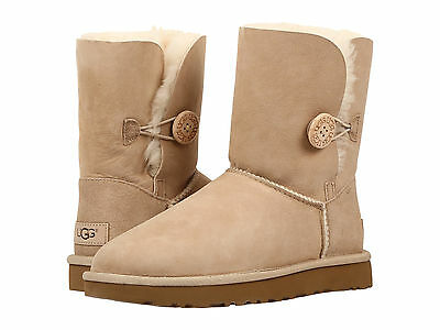 new women ugg bailey button ii boot sand 1016226 water stain rh picclick com