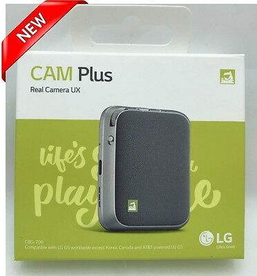 NEW Sealed LG G5 Cam Plus Camera CBG-700 Silver