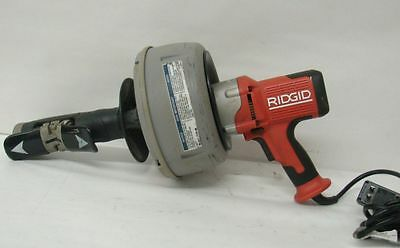 "Ridgid K-45af-7 Autofeed Drain Cleaner W/Bulb Auger & 5/8"" Coupling"