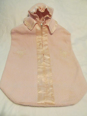 Vintage Infant Bunting With Hood 1940's