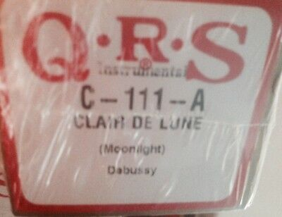 CLAIRE DE LUNE  Debussy  BRAND  NEW EXTENDED PLAY PIANOLA PLAYER PIANO ROLL ROLL