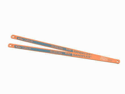 Bahco 3906 Sandflex Hacksaw Blades 300mm (12in) x 24tpi Pack 2