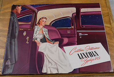 1941 Vehicle Brochure///LINCOLN-ZEPHYR V-12 AUTOMOBILE///a