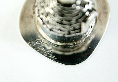 Silver Miniature Intini Italian Trullo House Stamp Marked ~ 15g ~ Made in Italy