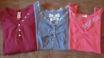 Ladies Juniors 3-Piece Shirt Lot Size Small 3/5