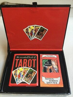 Tarot Cards Set Deck 78 Vintage Book Oracle Complete Box Fortune