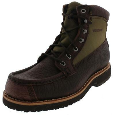 Chippewa 7202 Mens Leather Waterproof Work Boots Shoes BHFO