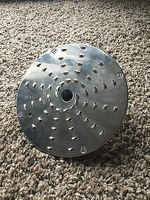 """Robot Coupe 3 mm (1/8"""") Medium coarse grating disc for CL50 CL52 CL60"""