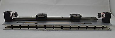 Renishaw 34mm Linear Slide Table w/ 2 THK SSR15 Bearing Blocks, 22mm Strip Scale