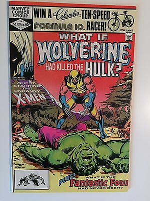 What If #31 vol 1 Wolverine Had Killed The Hulk NM