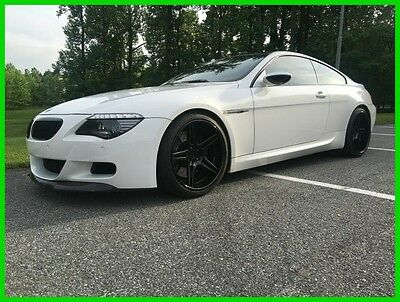 2007 BMW M6 Base Coupe 2-Door 2007 Used 5L V10 40V Manual RWD Coupe Premium