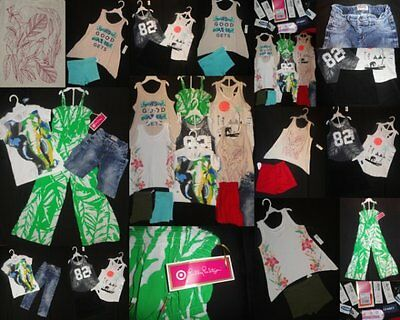 New Girls School Clothing size 6 7 Outfits Sets Tops Shirts Shorts NWT EUC Fall