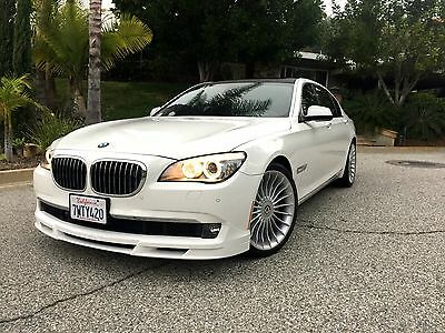 2011 BMW 7-Series BMW 750Li Alpina B7 Long Wheel Base Loaded With Every Option TVs HUD Only 42k Miles Sport