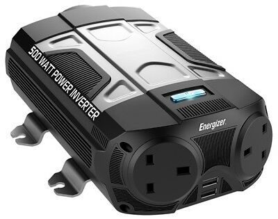 500w Power Inverter 50610 Energizer New