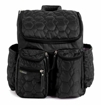 Wallaroo Diaper Bag Backpack with Stroller Straps, Wet Bag and Diaper Changing -