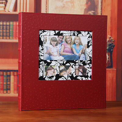 600 Pockets Slip In Jumbo Leather Photo Album 4R/4 x 6 Inches Photos
