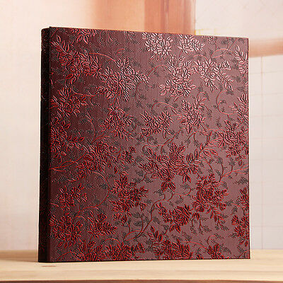 400 Pockets Slip In Jumbo Leather Photo Album 4R/4 x 6 Inches Photos