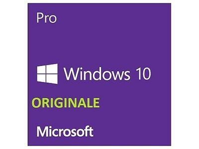 Windows 10 Pro ESD 32/64 bit  ORIGINALE versione RETAIL completa professional
