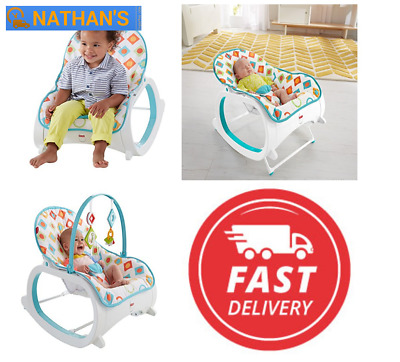 Fisher-Price Portable Sleep Seat Infant Toddler Kid Bouncer Comfort Swing Chair