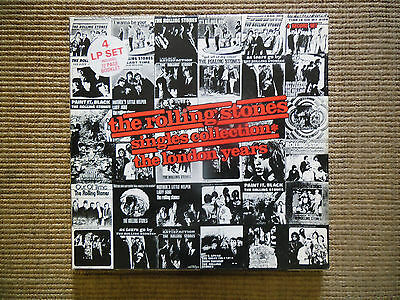 The Rolling Stones Singles Collection The London Years, Coffret 1989, 4Lp, Tbe