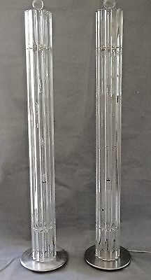 Pair Of Venini Floor Lamps