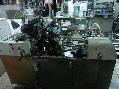 1250w multilith printing press single lever,chain delivery,Kompac, parts,etc.