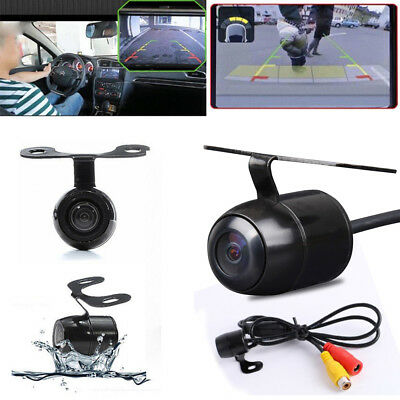 Waterproof 170° Colorful CCD Car Rear View Reverse Backup Parking Camera Cam Hot