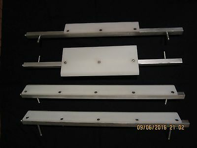Scrapers and holders assembly for MR11 and MRS11 ACME dough roller sheeter