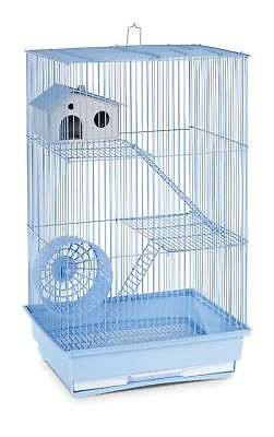 Pet Cage 3 Level Pig Rat Home Hamster Gerbil Mouse Wire Small Animal Pet House