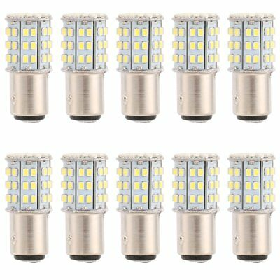 10x 1157 BAY15D 18SMD 5050 LED Light Car Tail Turn Signal TailLight Lamp Bulb
