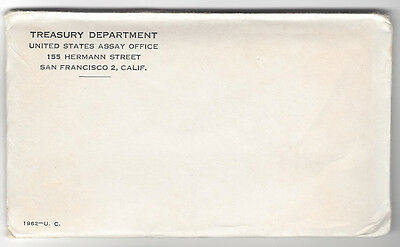 1962 Mint Set SEALED - FREE DELIVERY IN THE U. S. A.