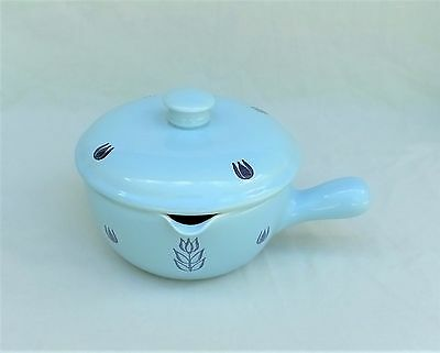 "BAKE OVEN 6"" Lidded Baking Casserole Dish with Handle Ovenware Excellent"