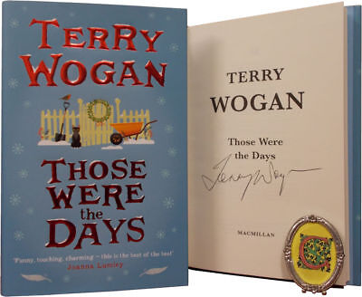Signed Book - Those Were The Days by Terry Wogan