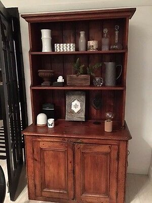Rustic Antique Buffet/Dresser/Cabinet/Bookcase